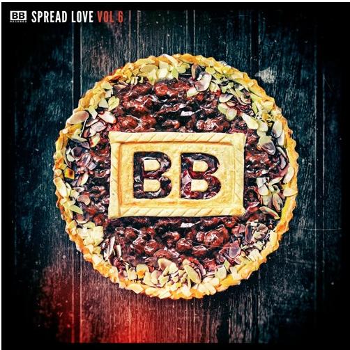 black butter records  | spread love vol 6